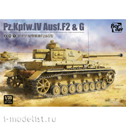 BT-004 Border Model 1/35 Танк Pz.Kpfw.IV Ausf. F2 & G