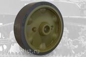 35004 Fury Models 1/35 Набор дополнений штампованные колесные диски комплект B  для Легкого танка США M5A1 / M8 HMC