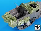 T35035 Black dog 1/35 US M2 accessories set N°1 for Dragon