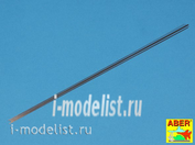 SR 03 Aber 1/35 Steel round rods Ø 0,3mm length 245mm x12 pcs.