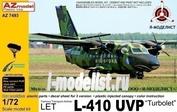 AZ7493 AZmodel 1/72 Самолет L-410 UVP