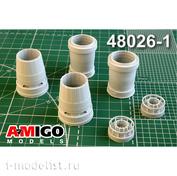 AMG48026-1 Amigo Models 1/48 Суххой-57 сопло двигателя АЛ-41Ф1С
