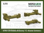 35198 Miniarm 1/35 Т-34 Комплект балансиров (завод Красное Сормово)