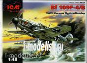 48104 ICM 1/48 Bf 109 F-4/B, German fighter of world war II