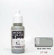 70905  Краска акриловая `Model Color Сине-серый палевый/ Blue grey pale