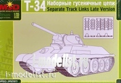 35021 1/35 Patterned Layout houseone chain of the T-34