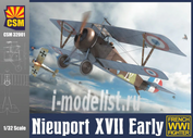 CSM32001 Copper State Models 1/32 Nieuport XVII Early