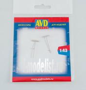 AVD243011902 AVD Models 1/43 Грабли П-2-10, 2 шт