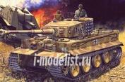 13265 Academy 1/35 Немецкий тяжелый танк Тигр (средняя версия) с интерьером