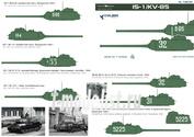 72035 ColibriDecals 1/72 Декаль для IS-1/KV-85