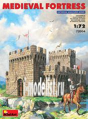 72004 MiniArt 1/72 Средневековая крепость