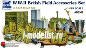 AB3562 Bronco 1/35 WW2 British Field Accessories Set
