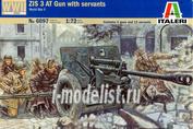 6097 Italeri 1/72 Пушка 2ND WW Russian ZIS3 AT GUN