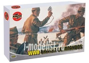 1732 Airfix 1/72 Wwii British Commandos