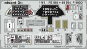 FE984 Eduard photo etched parts for 1/48 F-100D