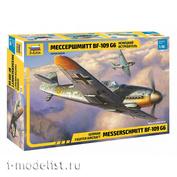 4816 Звезда 1/48 Немецкий истребитель Мессершмитт BF-109G6