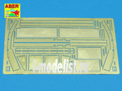 35 A37 Aber  1/35 Фототравление для Fenders for Jagdpanzer IV L/48 and L/70
