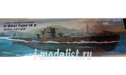 80914 Mini Hobby Models 1/700 Electric submarines - the German U-107