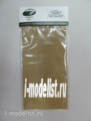 AH0056 Aurora Hobby Сетка латунная плетеная, ячейка 0,40 мм 10х20 см