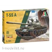 7081 Italeri 1/72 Танк T-55 A