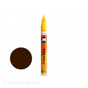 127410 Molotow Marker ONE4ALL 127HS-CO #092 Brown Walnut 1.5 mm