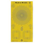 ММ501 Мажор Моделс Шаблон для нарезки маскировочного скотча, тип 2 - круги