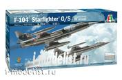 2514 Italeri 1/32  Истребитель F-104 Старфайтер G/S улучшенная версия