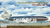 144107 Восточный экспресс 1/144 Пассажирский Авиалайнер MD-11 GE AMERICAN AIRLINES