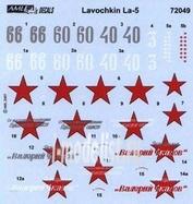 AMLD 72 049 AML 1/72 Декаль для Soviet Aces in La-5's