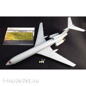 MD14402 Metallic Details 1/144 Фототравление для Tu-154 (Zvezda)