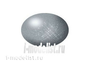 36191 Revell Краска аква цвета железа, металлик (steel, metallic)