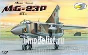 RVA72007 R.V.AIRCRAFT 1/72 MiG-23-P