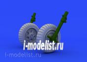 648152 Eduard 1/48 Набор дополнений Fw 190 wheels early