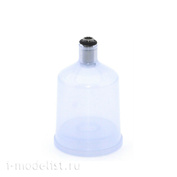 1581 JAS Container with lid, 20 ml, thread, plastic
