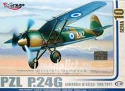 481008 Mirage Hobby 1/48 PZL P.24G Greece 1940/1941