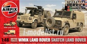 6301 Airfix 1/48  British Forces WMIK Land Rover - Snatch Land Rover
