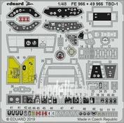 FE966 Eduard photo etched parts 1/48 TBD-1