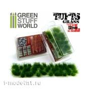 1349 Green Stuff World Grass Hummocks 12mm dark green / Grass TUFTS XL-12mm self-adhesive-DARK GREEN