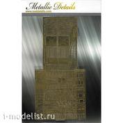 MD4839 Metallic Details 1/48 Фототравление для Su-27 (Academy)