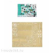 072035 Микродизайн 1/72 Набор фототравления цветные приборные доски для MiGG-21, все модификации (Звезда)