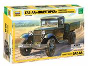 3602 Zvezda 1/35 Truck GAS-AA