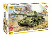 5039 Zvezda 1/72 Soviet t-34/85 tank (Assembly without glue)