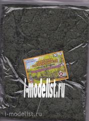 22-406 I-MODELIST Greens imitation of vegetation. Light green 20g №1