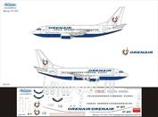 735-011 Ascensio 1/144 Декаль для boein 737-500 (OrenAr)