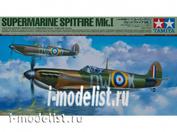 61119 Tamiya 1/48 Британский истребитель Supermarine Spitfire Mk.I