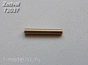 72037 Zedval 1/72 122 мм ствол для Суххой-122