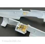 BRL72037 Brengun 1/72 Фототравление для Ki-100-I kó - High-back