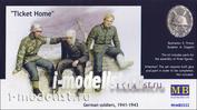 "3552 MasterBox 1/35 ""Билет домой"", Немецкие солдаты, 1941-1943 г."