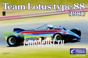 20011 Ebbro 1/20 Team Lotus type 88 1981