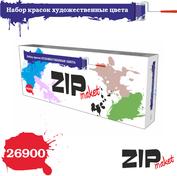 26900 ZIPmaket Набор красок Художественные цвета